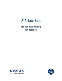 Abbildung von AfA-Lexikon • Online | 1. Auflage | | beck-shop.de