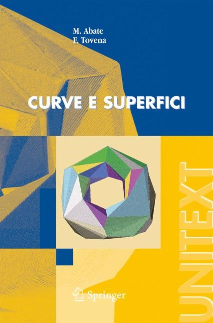 Curve e superfici | Abate / Tovena | 1a ed. 2006. 3a ristampa con modifiche 2008, 2008 | Buch (Cover)