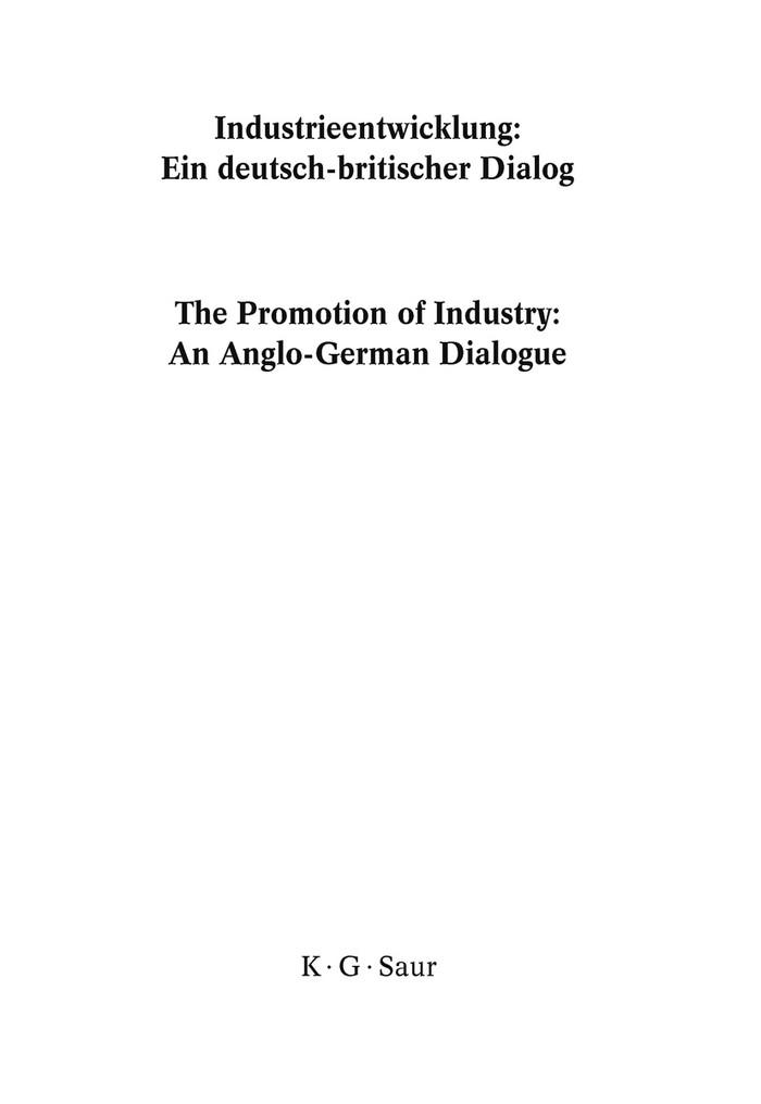 Industrieentwicklung | Bosbach / Davis / Fahrmeir, 2009 | Buch (Cover)