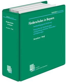 Abbildung von Dirnaichner / Weigl | Förderschulen in Bayern | Loseblattwerk mit Aktualisierungen | 2019 | Sonderpädagogische Förderung -...