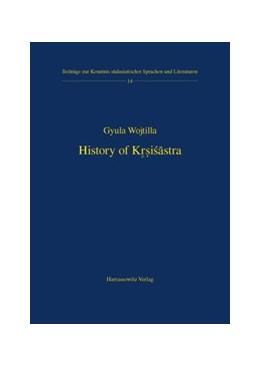 Abbildung von Wojtilla   History of Krsisastra   2006   A History of Indian Literature...   14