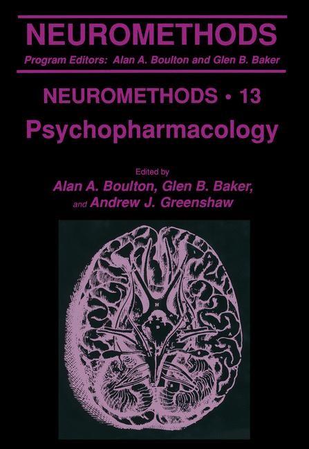 Psychopharmacology | Boulton / Baker / Greenshaw, 1989 | Buch (Cover)
