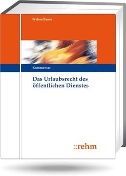 Abbildung von Schulz | Das Urlaubsrecht des öffentlichen Dienstes | 1. Auflage | 2020 | beck-shop.de
