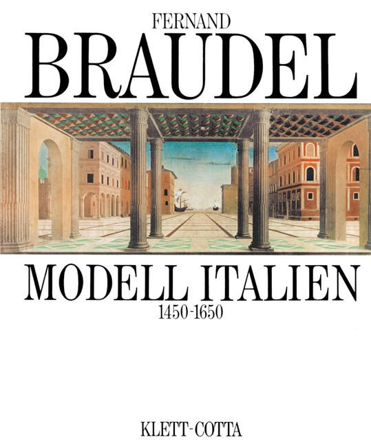 Modell Italien 1450-1650   Braudel, 1991   Buch (Cover)