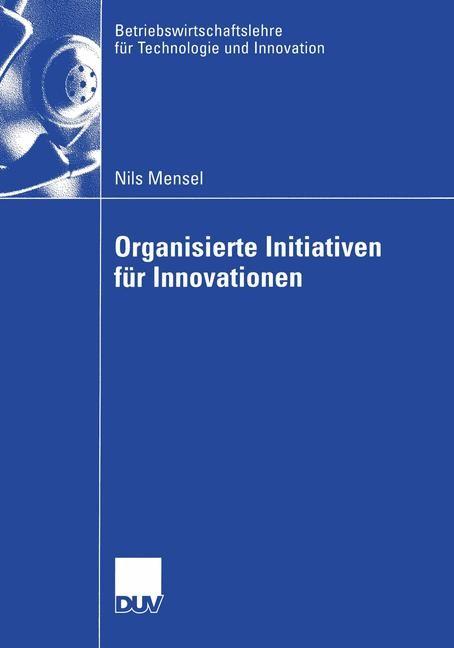 Abbildung von Mensel | Organisierte Initiativen für Innovationen | 2004