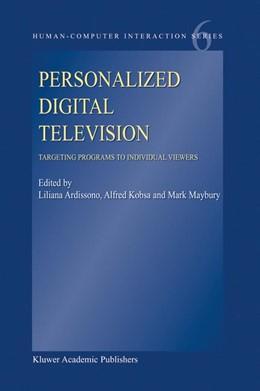 Abbildung von Ardissono / Kobsa / Maybury | Personalized Digital Television | 2004 | Targeting Programs to Individu... | 6