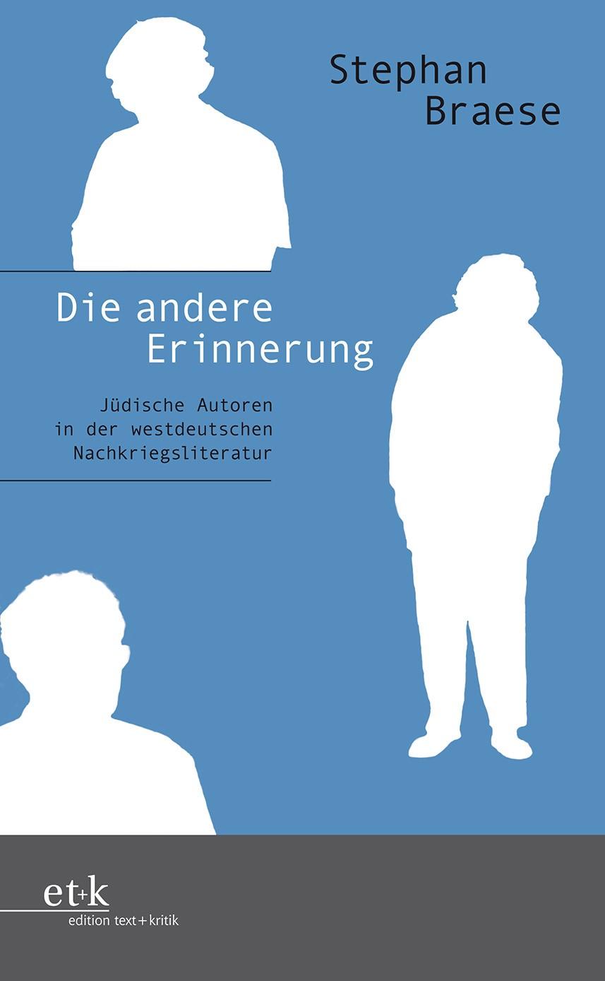 Die andere Erinnerung | Braese | 1. Auflage, 2010 | Buch (Cover)