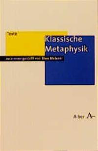 Abbildung von Meixner / Lembeck | Klassische Metaphysik | 1999