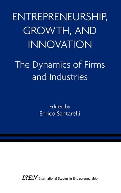 Entrepreneurship, Growth, and Innovation | Santarelli, 2006 | Buch (Cover)
