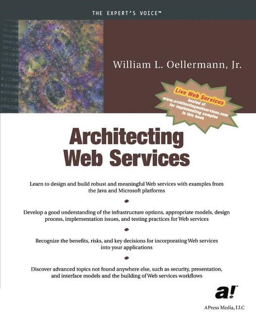 Architecting Web Services | Oellermann | Softcover reprint of the original 1st ed., 2001 | Buch (Cover)