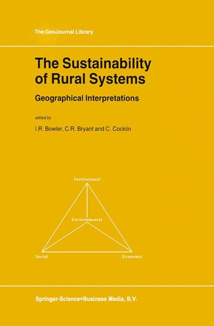 The Sustainability of Rural Systems | Bowler / Bryant / Cocklin | 1st Edition. Softcover version of original hardcover edition 2002, 2010 | Buch (Cover)