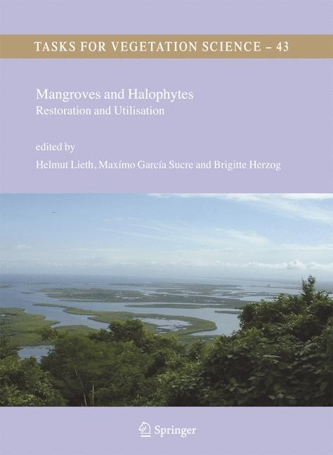 Mangroves and Halophytes | Lieth / García Sucre / Herzog | 1st Edition. Softcover version of original hardcover edition 2008, 2010 | Buch (Cover)