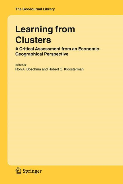 Learning from Clusters | Boschma / Kloosterman | 1st Edition. Softcover version of original hardcover edition 2005, 2011 | Buch (Cover)
