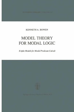 Abbildung von Bowen | Model Theory for Modal Logic | 1979 | 2010 | Kripke Models for Modal Predic... | 127