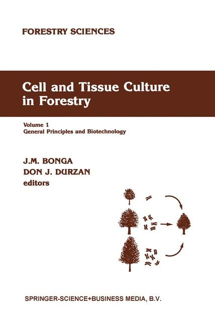 Abbildung von Bonga / Durzan | Cell and Tissue Culture in Forestry | 1987 | 2010
