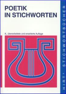 Poetik in Stichworten | Braak | 8., überarbeitete und erweiterte Auflage, 2001 | Buch (Cover)