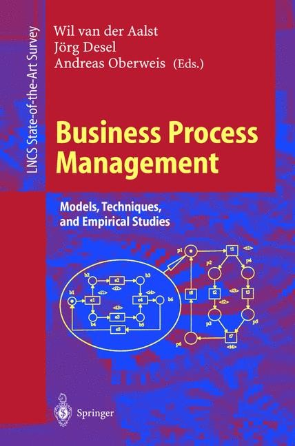 Business Process Management | Aalst / Desel / Oberweis, 2000 | Buch (Cover)