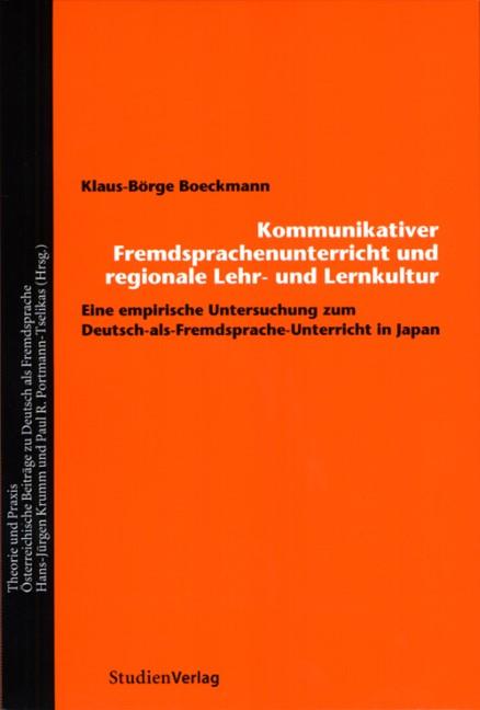 Abbildung von Boeckmann | Fremdsprachenunterricht und regionale Lehr- und Lernkultur | 2006