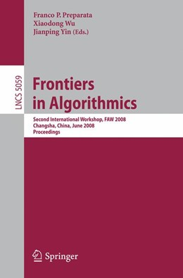 Abbildung von Preparata / Wu / Yin | Frontiers in Algorithmics | 2008 | Second International Workshop,...