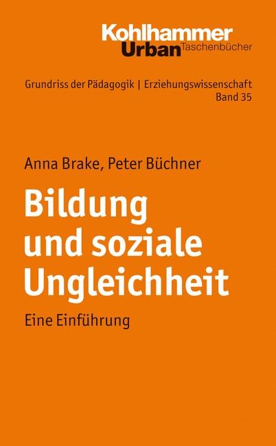 Bildung und soziale Ungleichheit   Brake / Büchner, 2011   Buch (Cover)