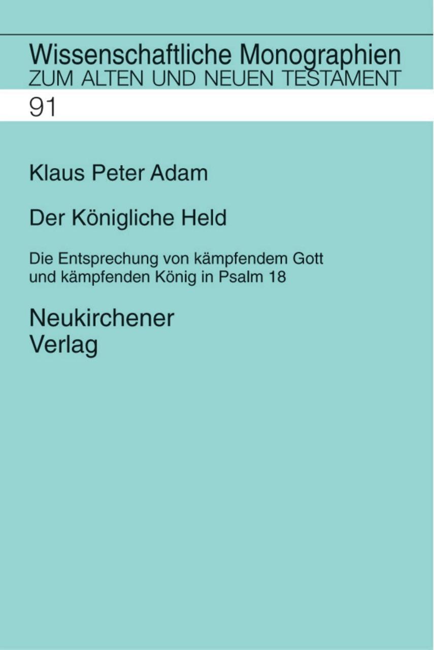 Der königliche Held | Adam, 2001 | Buch (Cover)