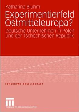 Abbildung von Bluhm | Experimentierfeld Ostmitteleuropa? | 2007 | Deutsche Unternehmen in Polen ...