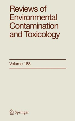 Abbildung von Ware   Reviews of Environmental Contamination and Toxicology 188   1st Edition. Softcover version of original hardcover edition 2006   2010   188