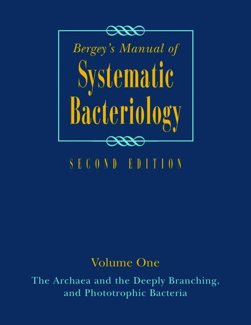 Bergey's Manual of Systematic Bacteriology | Boone / Castenholz | 2nd ed. Softcover version of original hardcover edition 2001, 2011 | Buch (Cover)