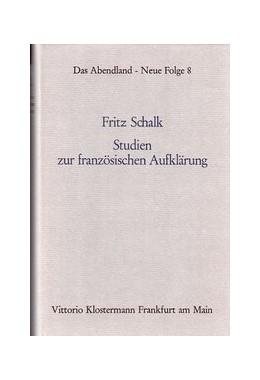 Abbildung von Studien zur französischen Aufklärung | 2. Auflage | 1977 | 8