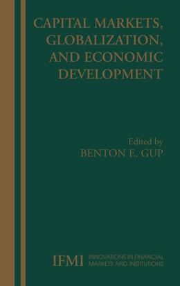 Abbildung von Gup | Capital Markets, Globalization, and Economic Development | 1st Edition. Softcover version of original hardcover edition 2005 | 2010 | 15