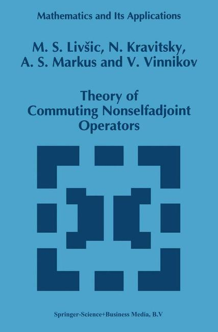 Abbildung von Livsic / Kravitsky / Markus | Theory of Commuting Nonselfadjoint Operators | 1st Edition. Softcover version of original hardcover edition 1995 | 2010