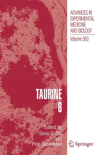 Taurine 6 | Oja / Saransaari | 1st Edition. Softcover version of original hardcover edition 2006, 2010 | Buch (Cover)