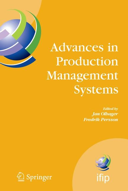 Advances in Production Management Systems | Olhager / Persson | 1st Edition. Softcover version of original hardcover edition 2007, 2010 | Buch (Cover)