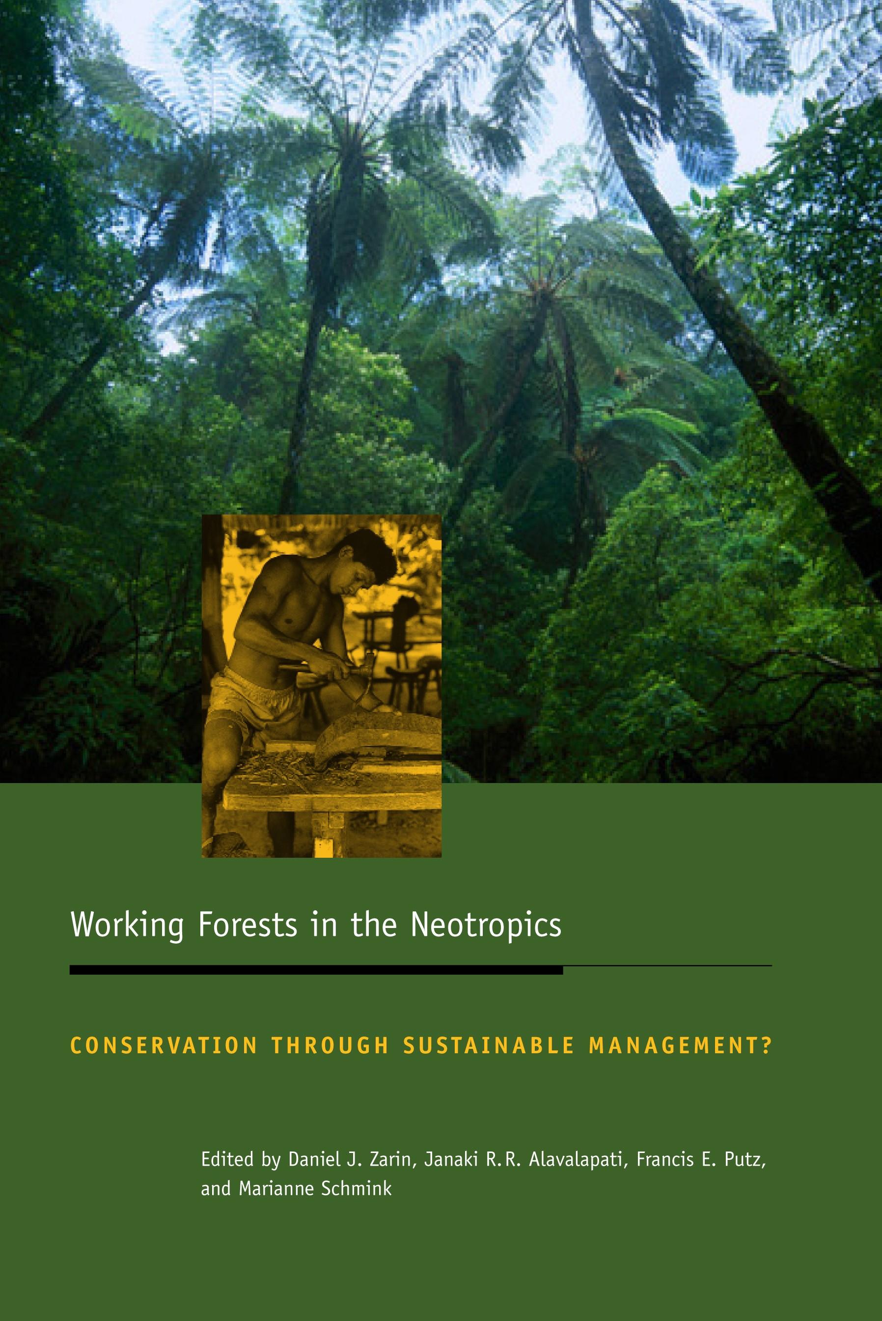 Abbildung von Zarin / Alavalapati / Putz / Schmink | Working Forests in the Neotropics | 2004