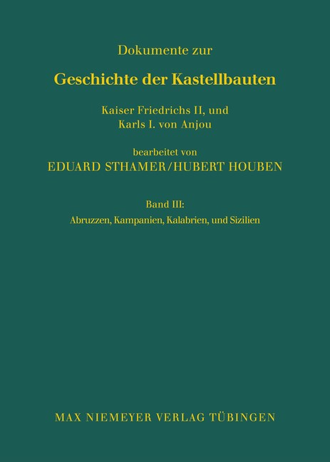 Abruzzen, Kampanien, Kalabrien und Sizilien | Sthamer / Houben, 2006 | Buch (Cover)