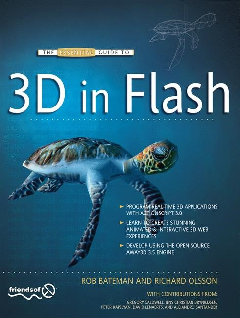 The Essential Guide to 3D in Flash | Olsson / Bateman | 1st ed., 2010 | Buch (Cover)