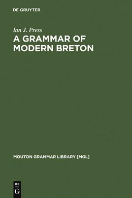 Abbildung von Press   A Grammar of Modern Breton   1986   1986   2