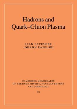 Abbildung von Letessier / Rafelski   Hadrons and Quark-Gluon Plasma   2002   18