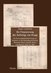 Die Finanzierung des Aufstiegs von Krupp | Lindenlaub, 2006 | Buch (Cover)