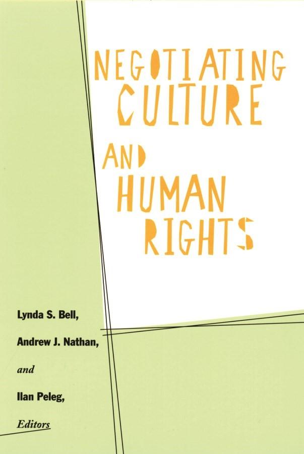 Abbildung von Bell / Nathan / Peleg | Negotiating Culture and Human Rights | 2001