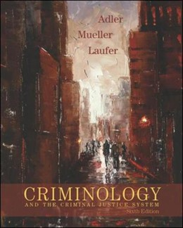 Abbildung von Adler / Mueller / Laufer | Criminology and the Criminal Justice System | 2006