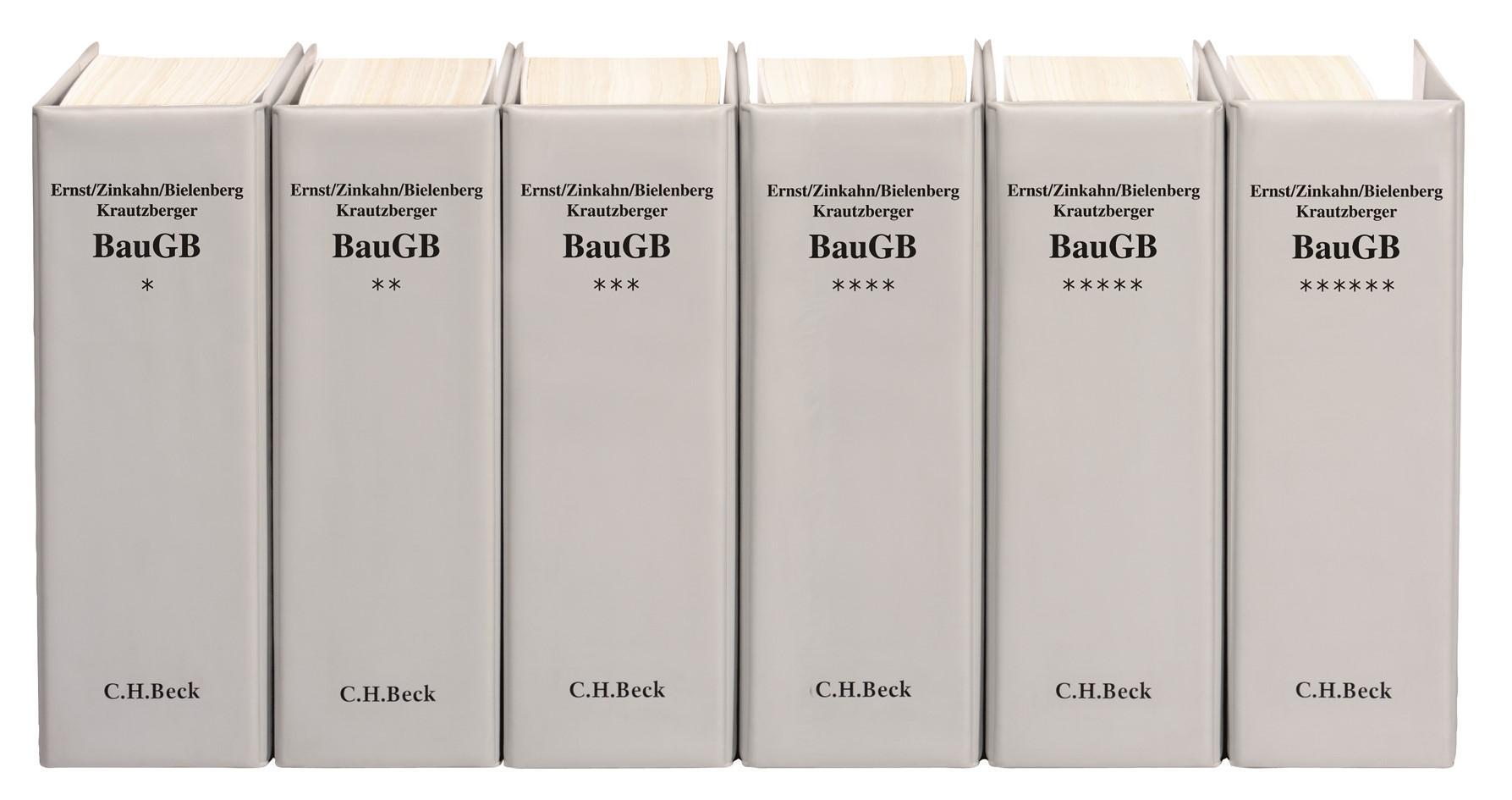 Baugesetzbuch | Ernst / Zinkahn / Bielenberg / Krautzberger | 125. Auflage (Cover)
