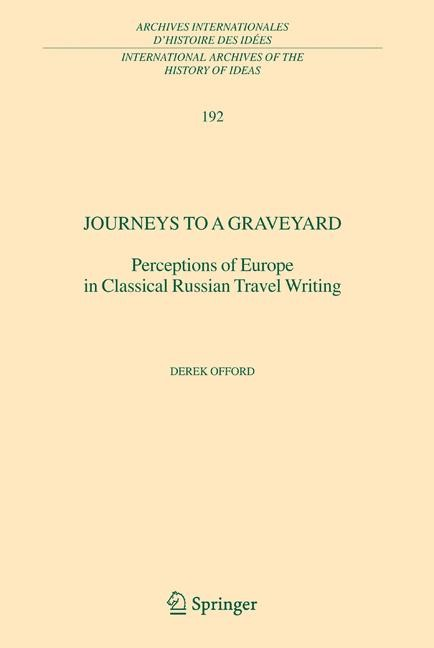 Journeys to a Graveyard | Offord, 2006 | Buch (Cover)