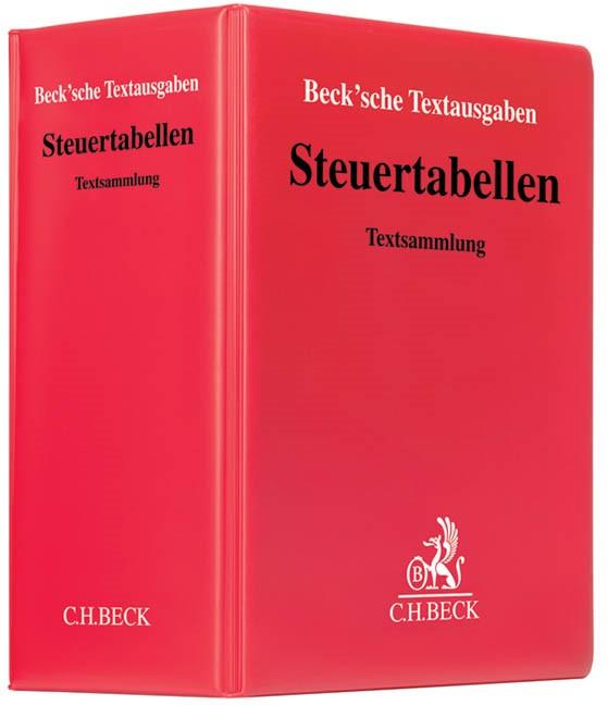 Steuertabellen | 138. Auflage (Cover)