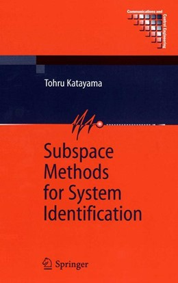 Abbildung von Katayama | Subspace Methods for System Identification | 1st Edition. Softcover version of original hardcover edition 2005 | 2010