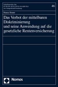 Abbildung von Brauer | Das Verbot der mittelbaren Diskriminierung und seine Anwendung auf die gesetzliche Rentenversicherung | 2004