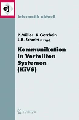 Abbildung von Müller / Gotzhein / Schmitt | Kommunikation in Verteilten Systemen (KiVS) 2005 | 2005 | 14. ITG/GI-Fachtagung Kommunik...