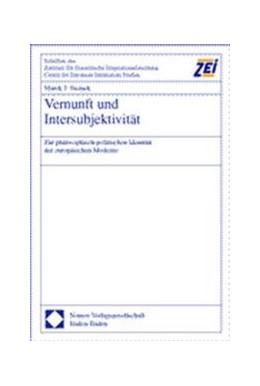 Abbildung von Siemek | Vernunft und Intersubjektivität | 2000 | Zur philosophisch-politischen ... | 13
