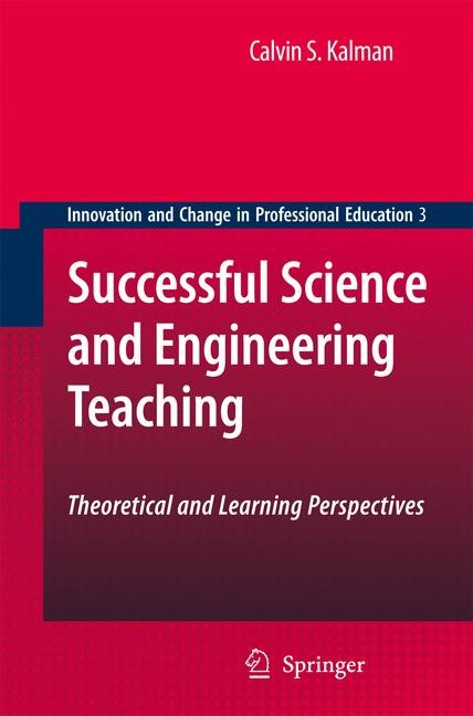 Successful Science and Engineering Teaching | Kalman, 2008 | Buch (Cover)