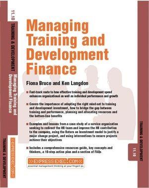 Abbildung von Green / Langdon | Managing Training and Development Finance | 2003